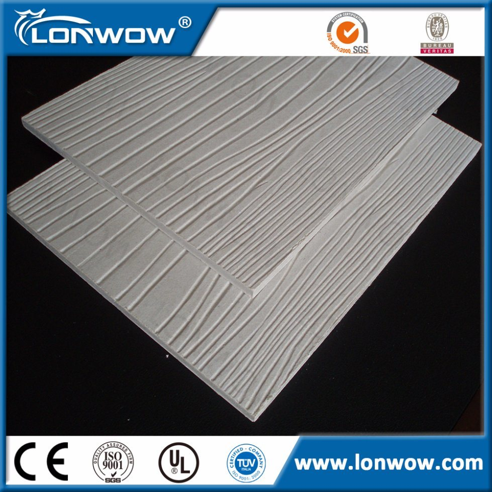 Wood Grain Cement Fiber Board Price