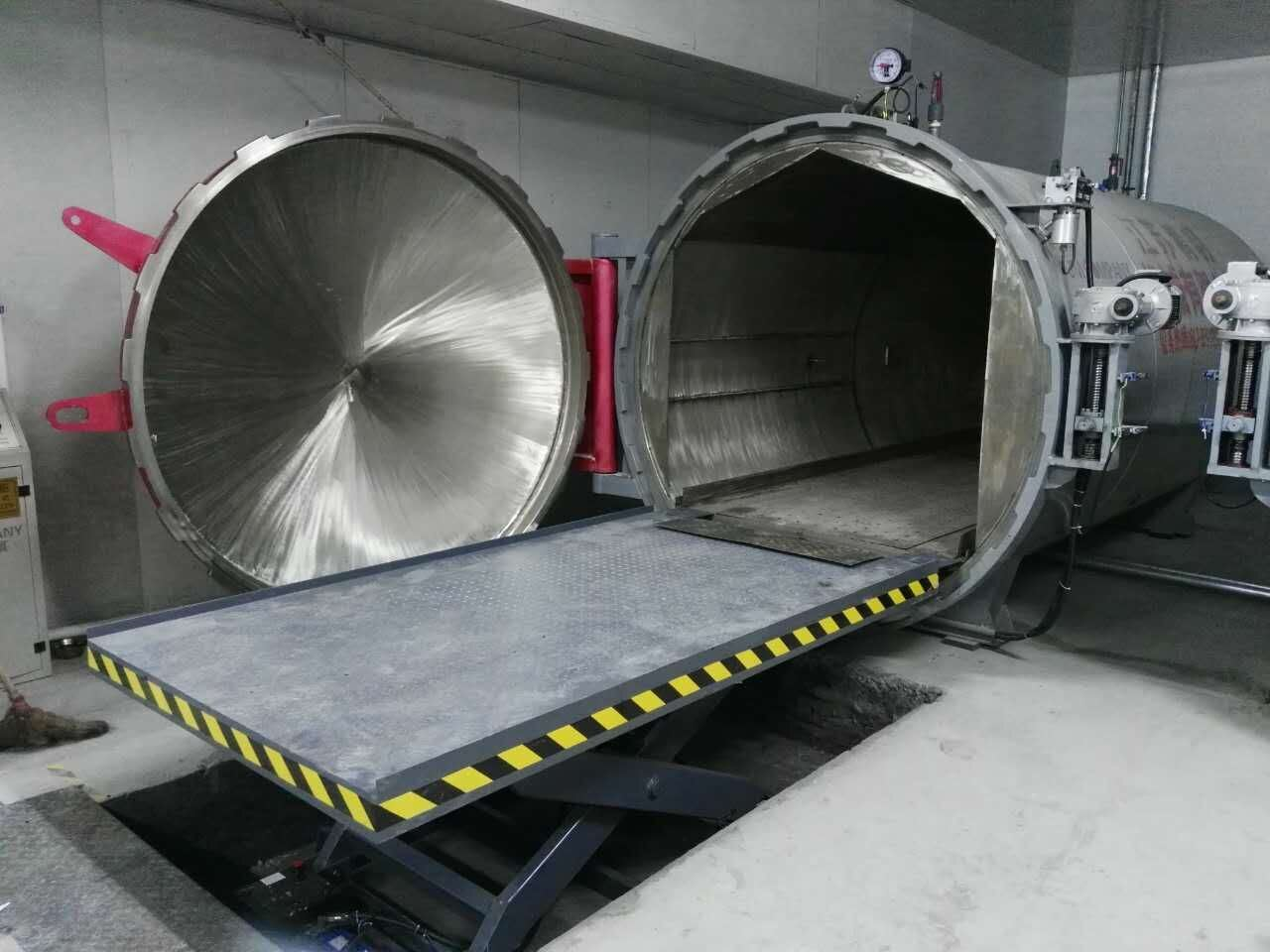 Autoclave for DTY Yarn Setting and Conditioning