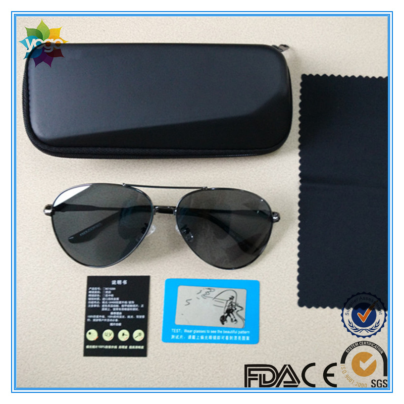 100% UV Protected Brand Metal Polarized Fashion Sports Sunglasses