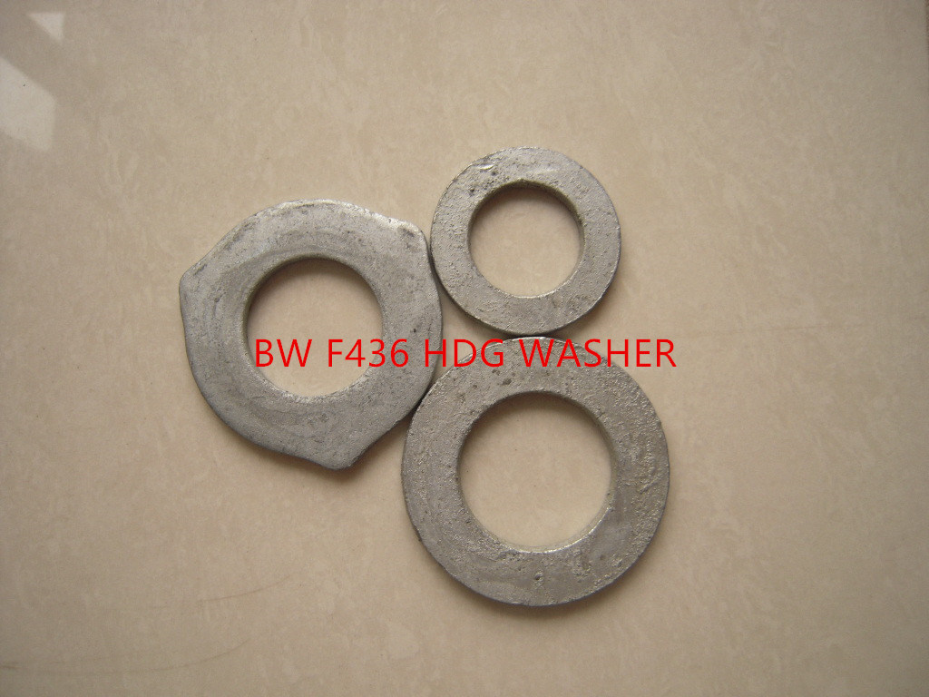 F436 Carbon Steel Flat Washers