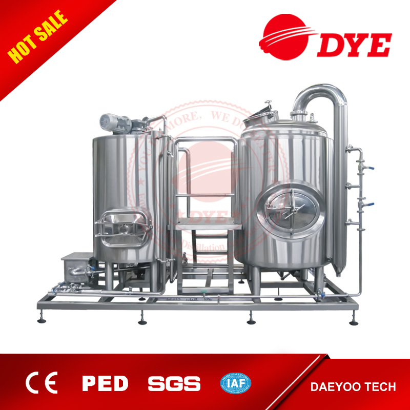 Made in China 7 Bbl Stainless Steel Home Beer Equipment Brewhouse