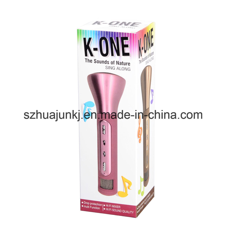2017 Newest Model Wireless Microphone Speaker (K-one Karaok)