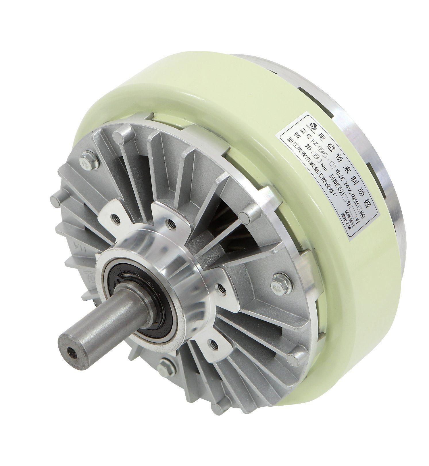 Single Shaft Type Magnetic Powder Brake for Plastic Machinery (50N. m)
