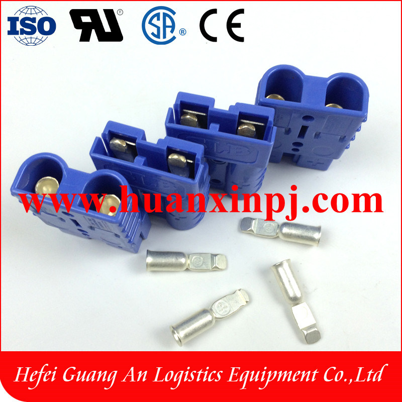 High Quality 50A Smh 2 Pin Battery Connector Blue Color