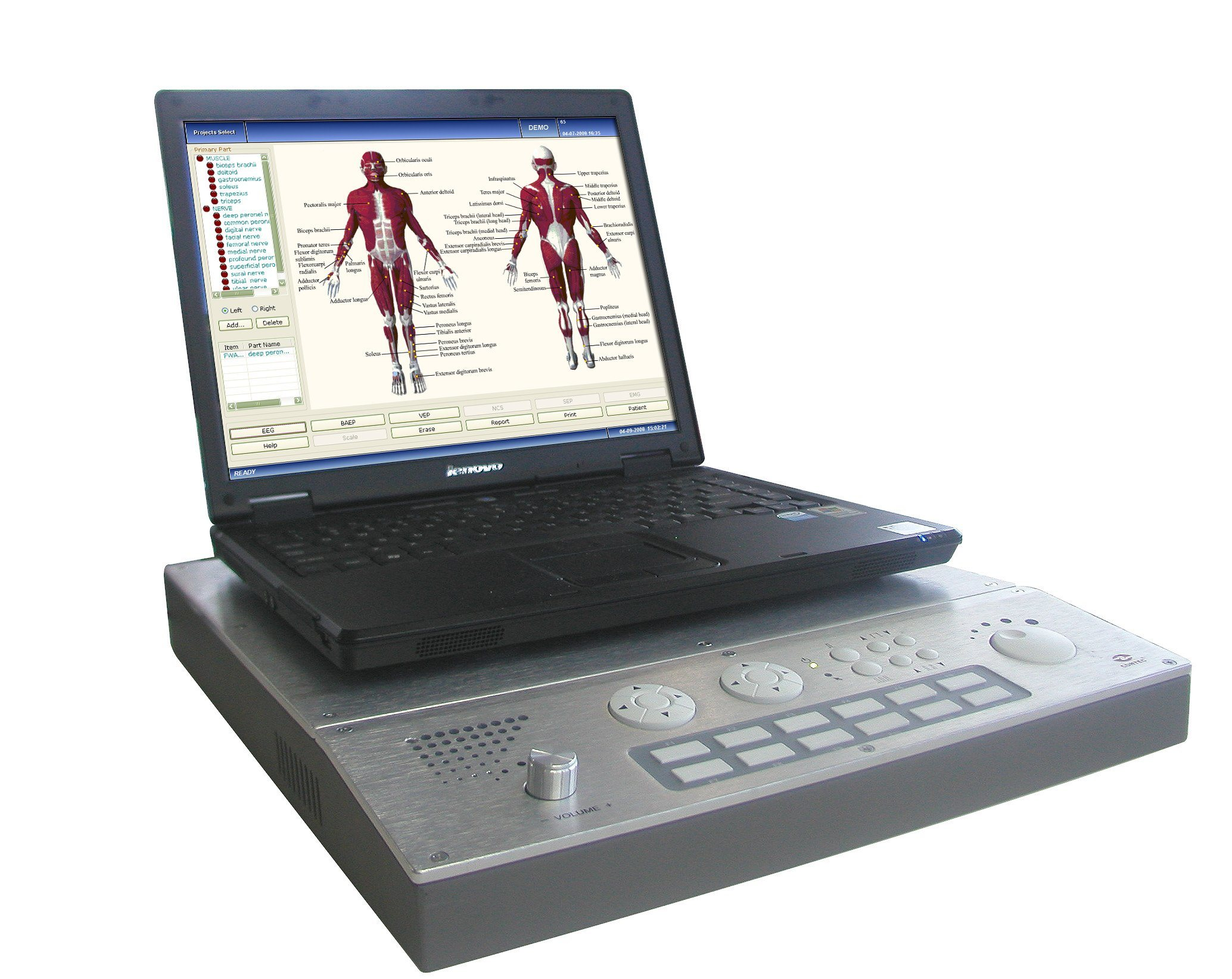 200kHz, 5-5000ms Medical Equipment Ultrasound System