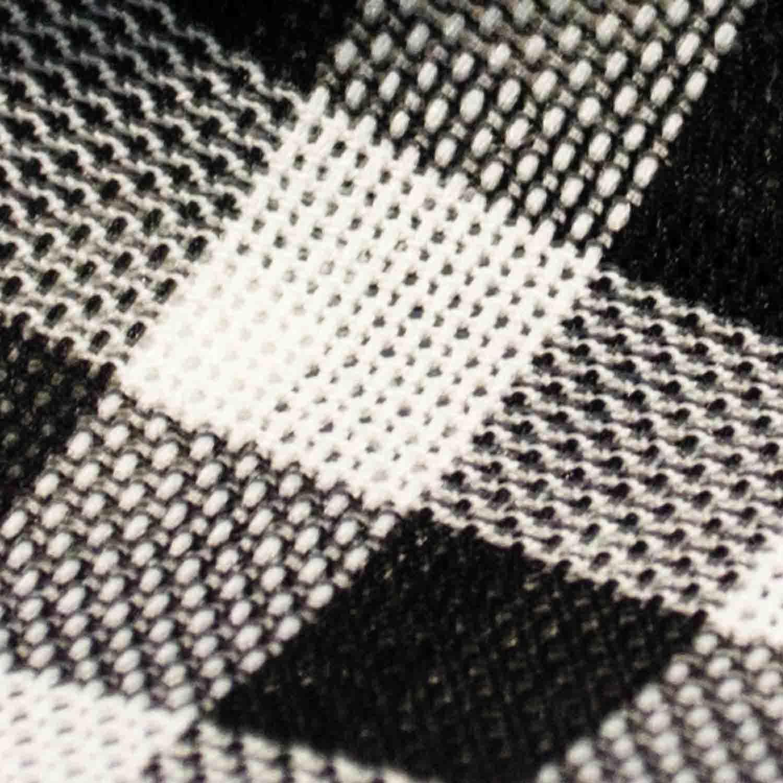 Polyester Fabric Yarn Dyed Fabric Chemical Fiber Woven Fabric for Woman Dress Skirt Coat Children Garment.