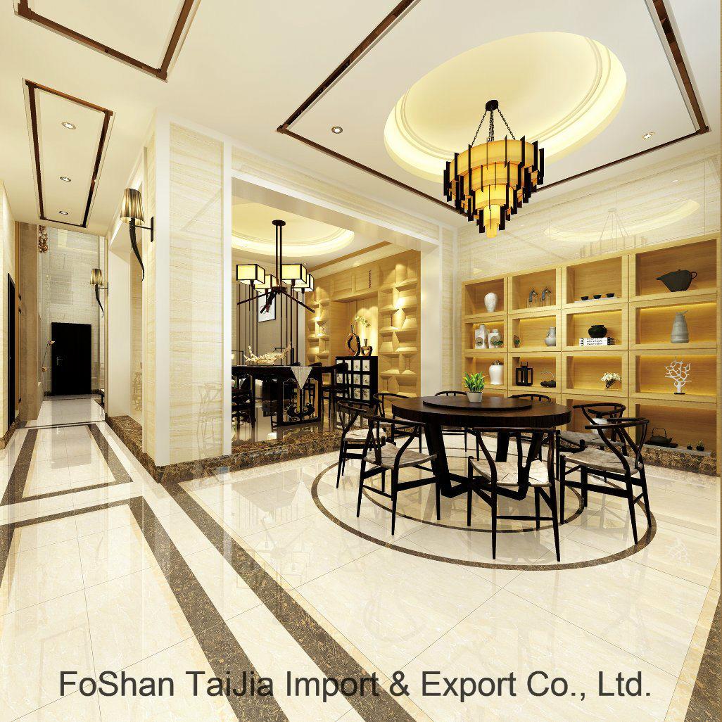 Full Polished Glazed 600X600mm Porcelain Floor Tile (TJ62001)