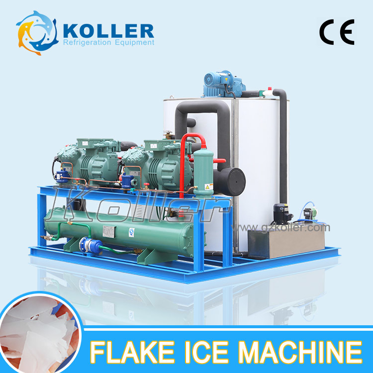 10 Tons/Day CE Approved Flake Ice Maker for Fish/Meat/Ice Plant