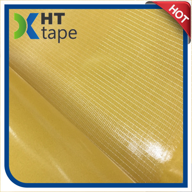 China Double-Sided Cross-Weaved Filament Mesh Tape