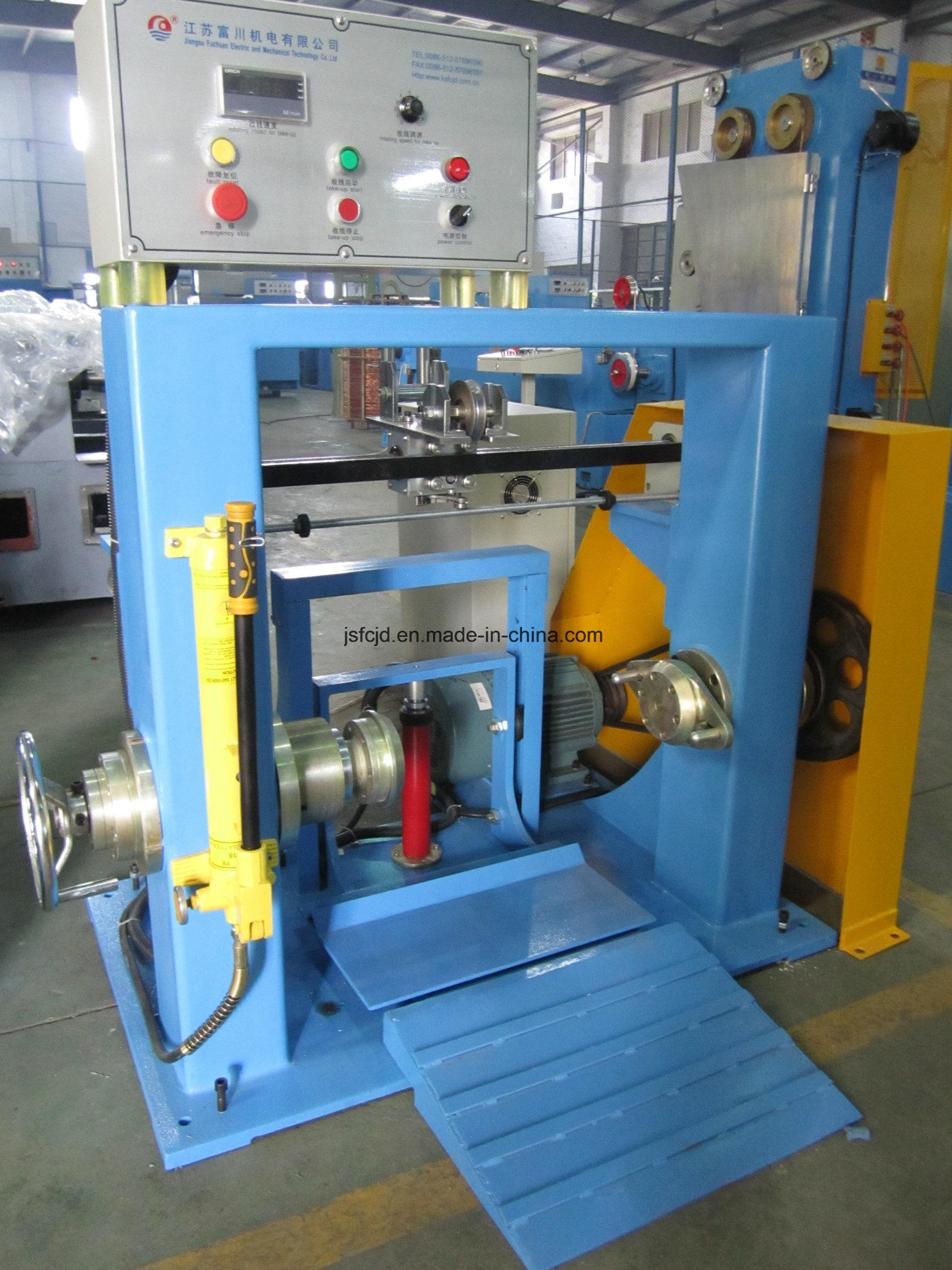 Double Shaft Multiple Drawing Active Pay-off Machine (FC-630)