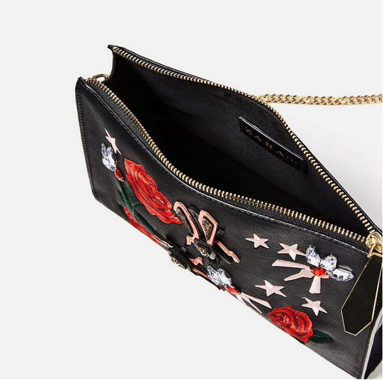 Women′s Fashion Embroidery Shoulder Handbag (BDMC121)