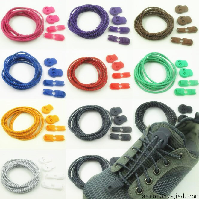Lazy Elastic No Tie Shoelace with Locker System