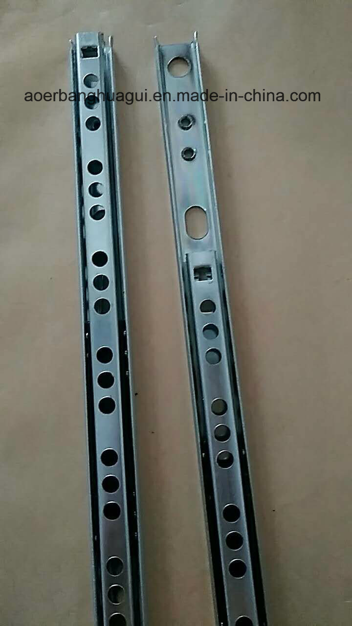 17mm Double Type of Double Extension Ball Bearing Slide
