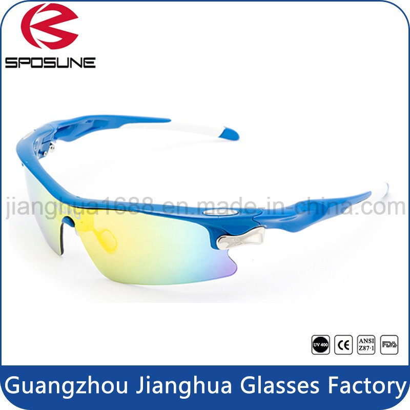 Factory Wholesale Polarized Anti Glare Cycling Glasses Prescription Bike Riders Sunglasses for Driving Volleyball Tennis