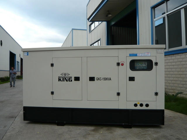 150kVA Generator Diesel Power Gensets with Cummins Engine