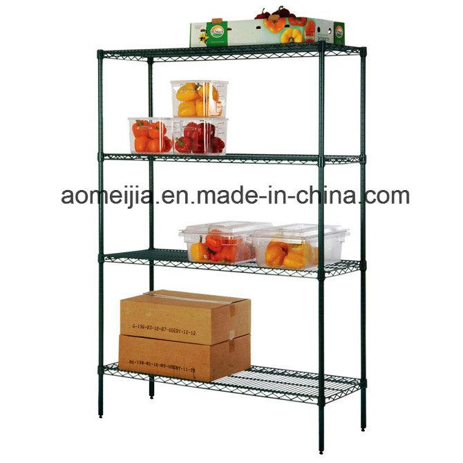 Green Epoxy Wire Shelf