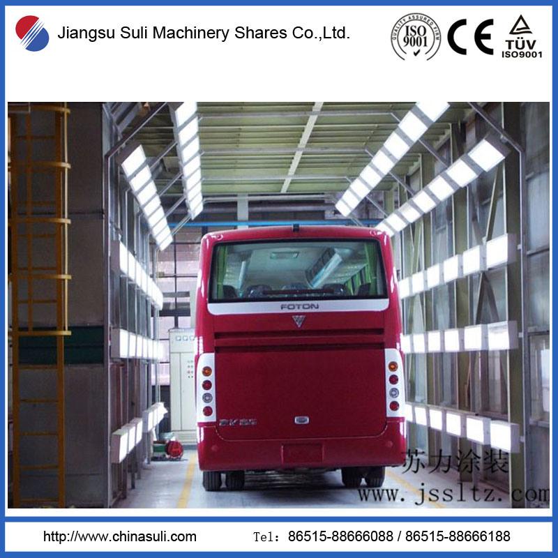 China Suli Shares Automatic Bus Powder Coating Production Line