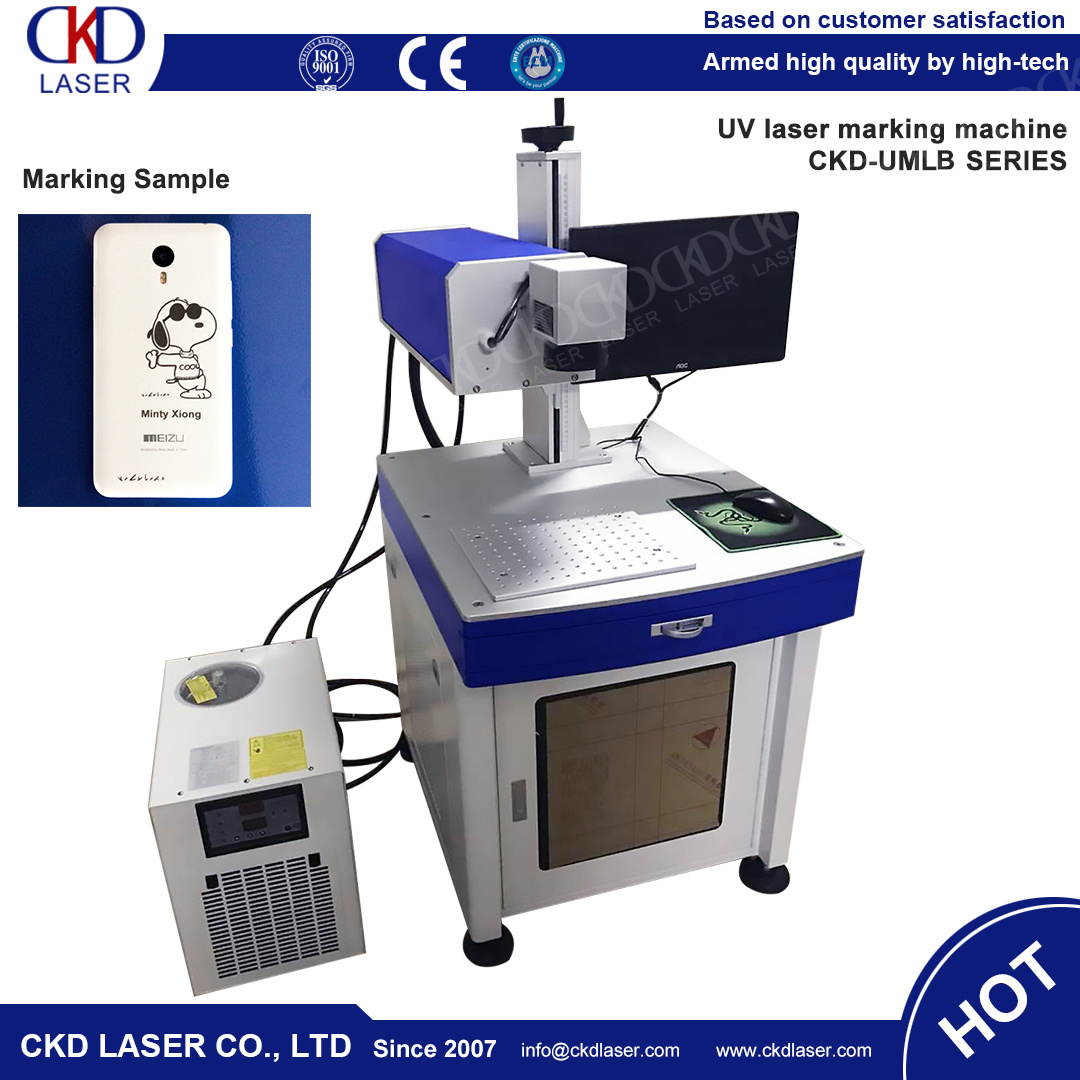UV Laser Engraver Marking Machine for All Kinds of Material