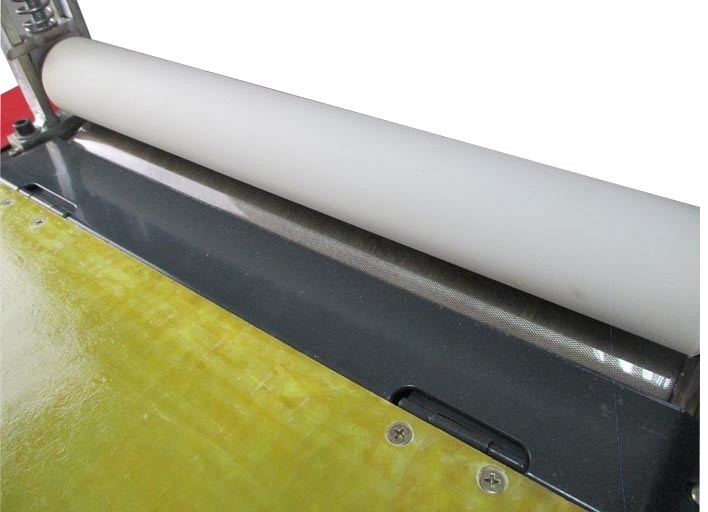 400mm Hot Melt Glue Laminating Machine Glue Roller Machine