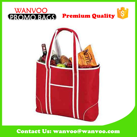 Promotional Cooler Bag Made of Non Woven, Woven, Polyester Canvas for Lunch Picnic Thermal & Cooling