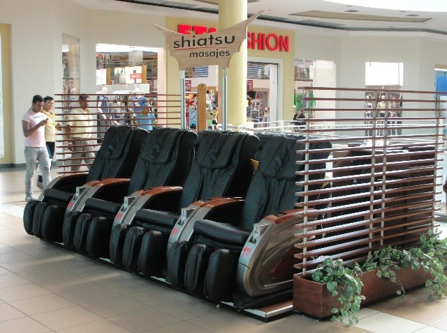 Canadian Dollar Operated Coin Massage Chair Vending Machine