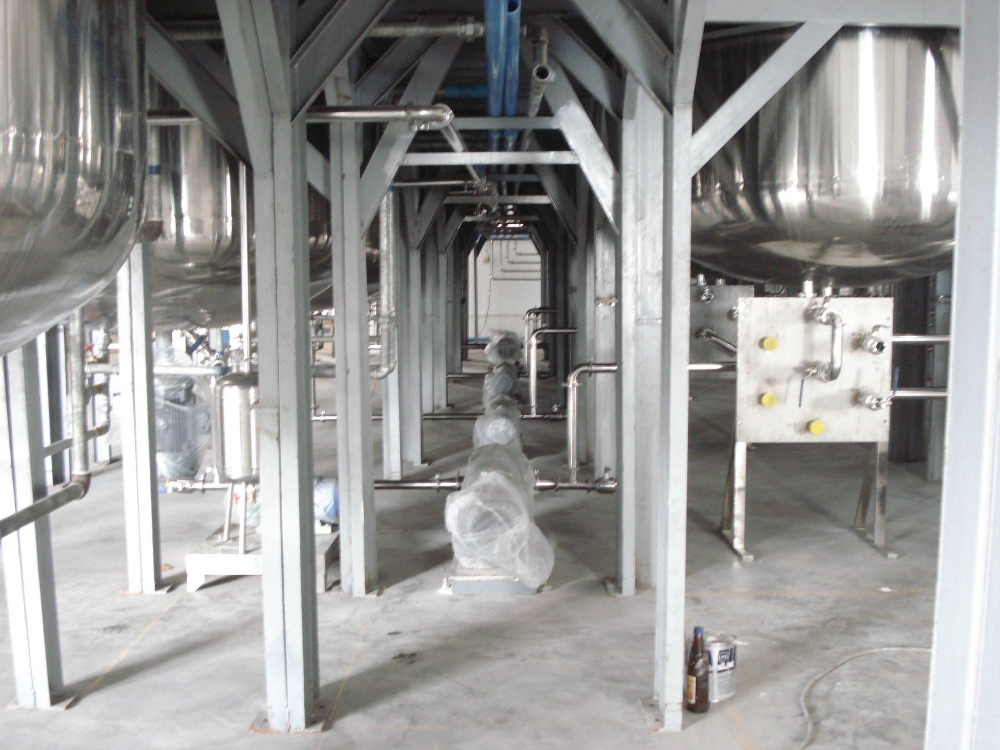 Mature Technology Liquid Washing Production Line Machinery