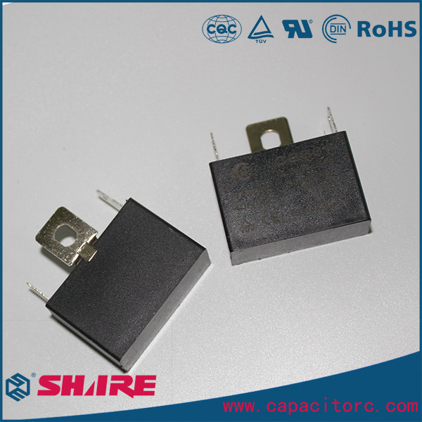 Metallized Polypropylene Film AC Motor Run Cbb61 Fan Capacitor