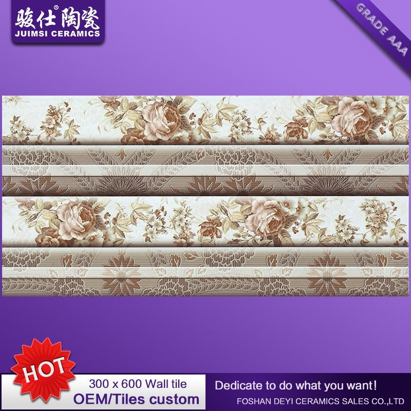 Foshan Juimsi 300X600 Kitchen & Bathroom Ceramic Glazed Wall Tile