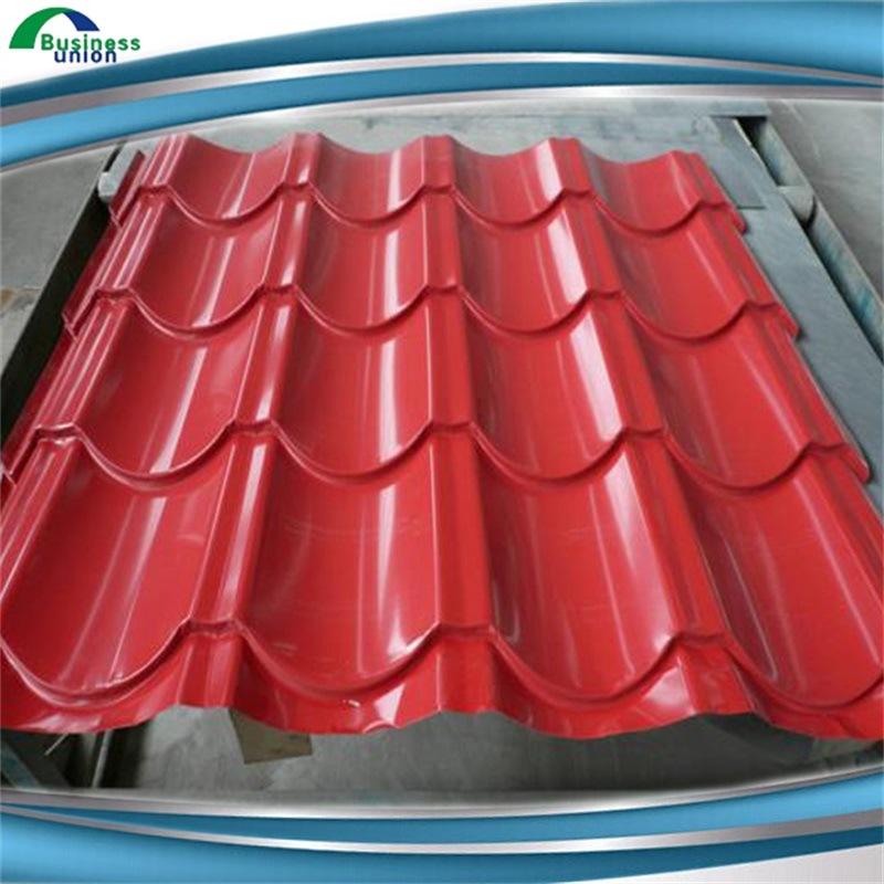 Zinc Coated Building Materials Metal Galvanized Roofing Sheet Steel Sheet