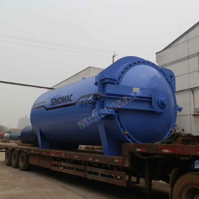 2850X6000mm Hot Oil Heated Laminated Glass Autoclave (SN-BGF2860)