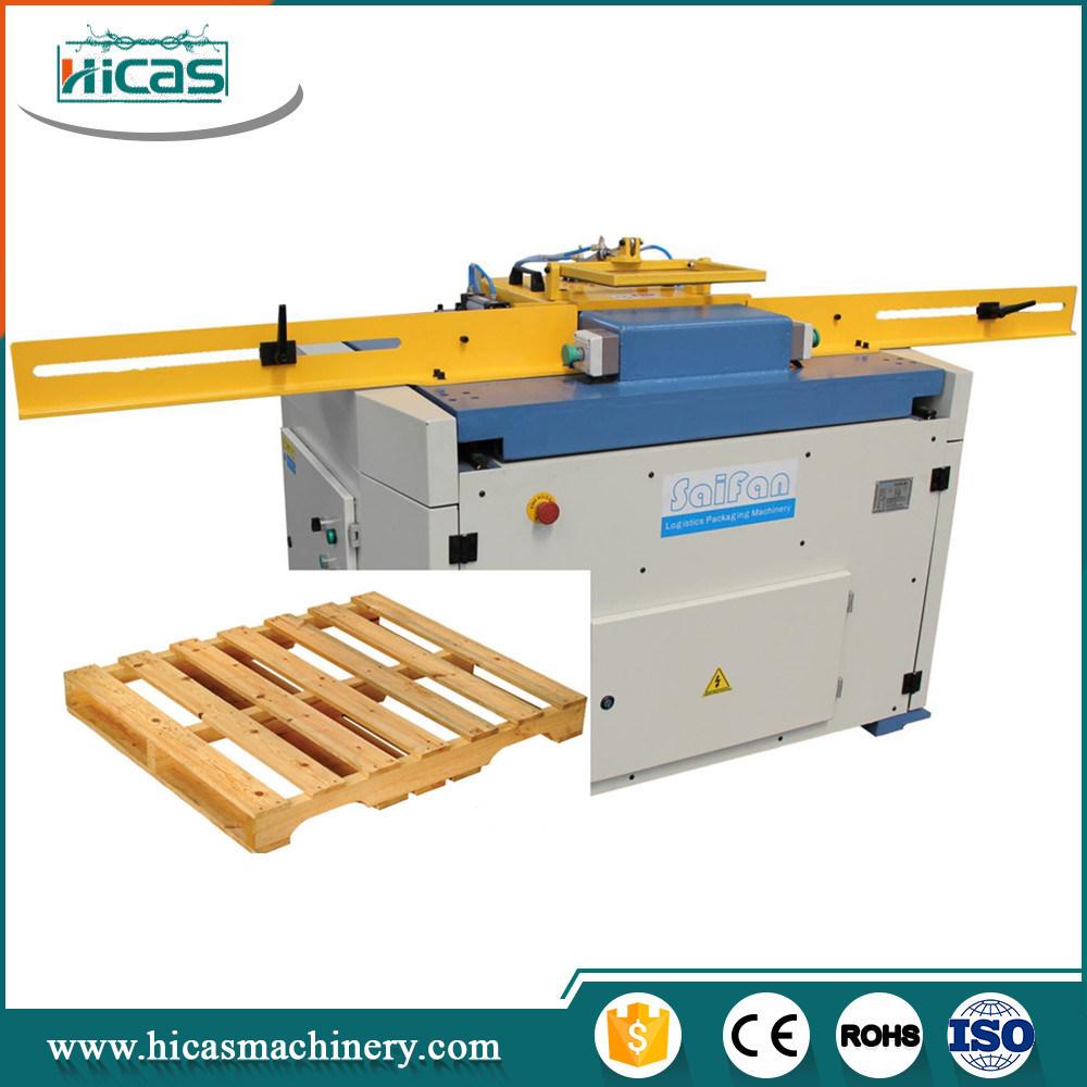 China Automatic Wood Pallet Production Machine