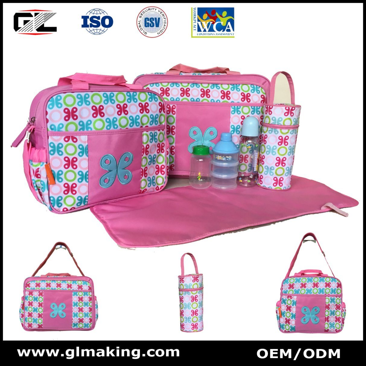 Cartoon Diaper Bags Series, Four Bag Included