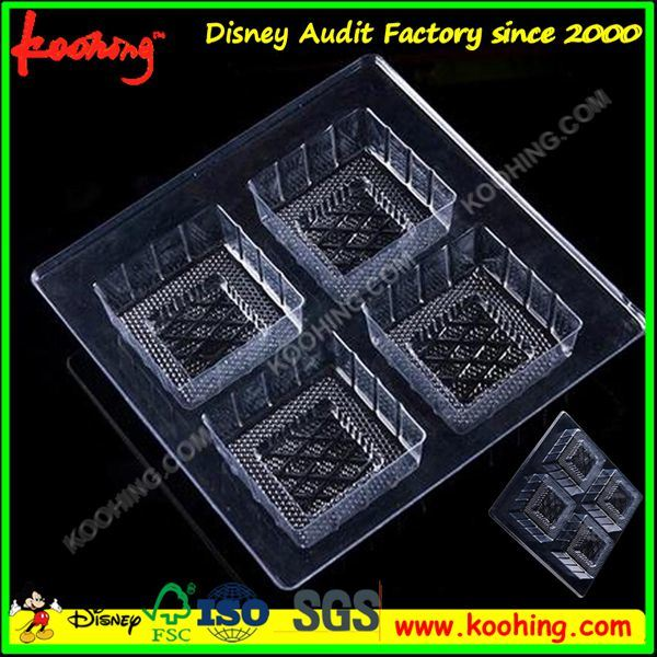 Clear Plastic Food Packaging Box and Tray
