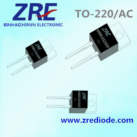 20A Mbr2020 (F) Thru Mbr20200 (F) Schottky Barrier Rectifiers TO-220AC