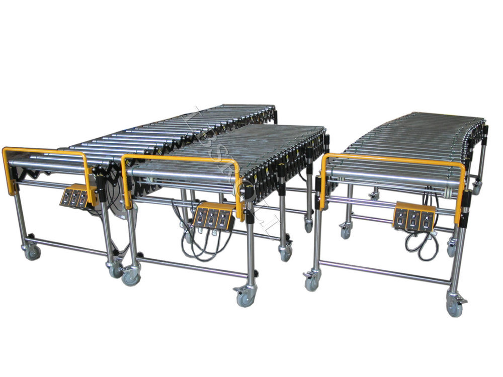 Skate Wheel Flexible Conveyor/ Roller Conveyor/Extendable Conveyor