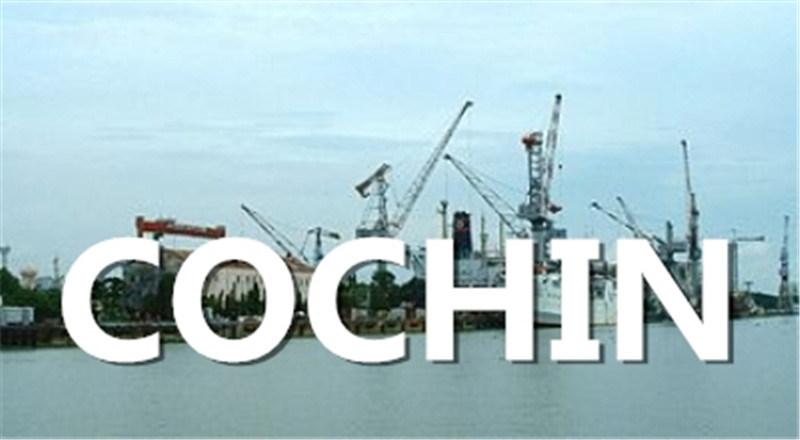 Shipping From Qingdao, China to Cochin, India