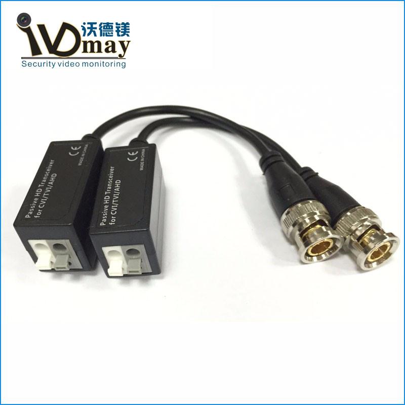 Wdm UTP 4CH Passive Balun CCTV Accessories for HD Tvi Cameras