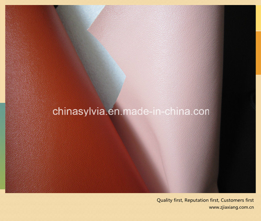 PU Leather Microfiber on Steam Perforated Shoes Lining Leather