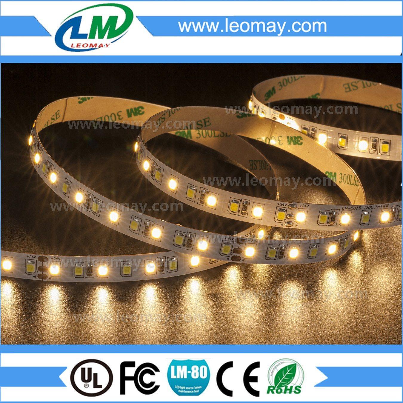 warm white 3000K non-waterproof 24V 2835 Car Light LED Strip