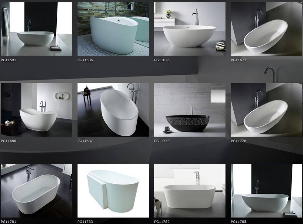Oval Shape Freestanding Bathtub