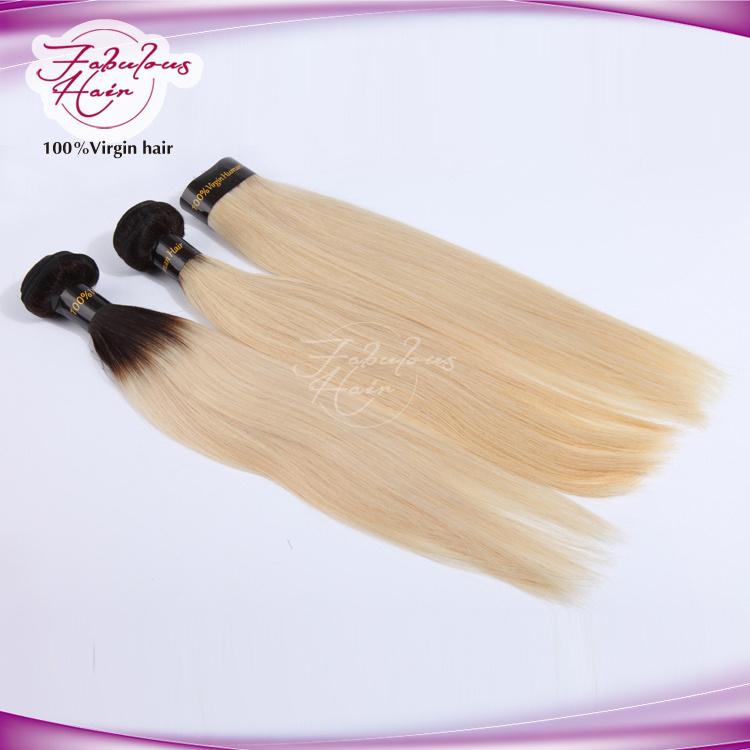8A European Color 613 Human Hair Straight Blonde Color Hair