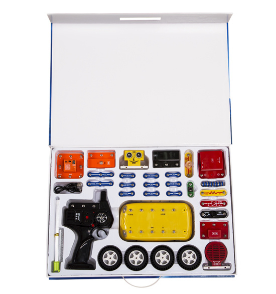 Snap Circuits Motion Electronics Discovery Kithot China Products Children Gifts Educational DIY Car Toys for Kids