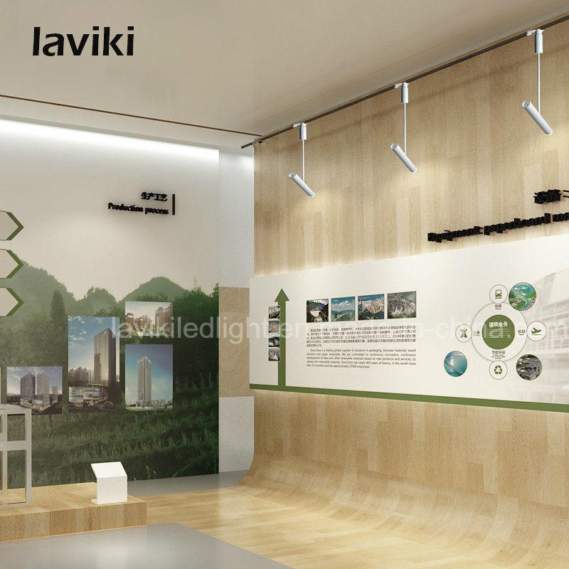 3W 5W 7W 10W 12W COB LED Track Light LED Spotlight with 2 3 4 Wire Track Rail for Shop Lighting, Home Lighting