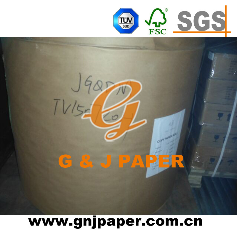 Good Quality Roll Size Copy Paper in Stock