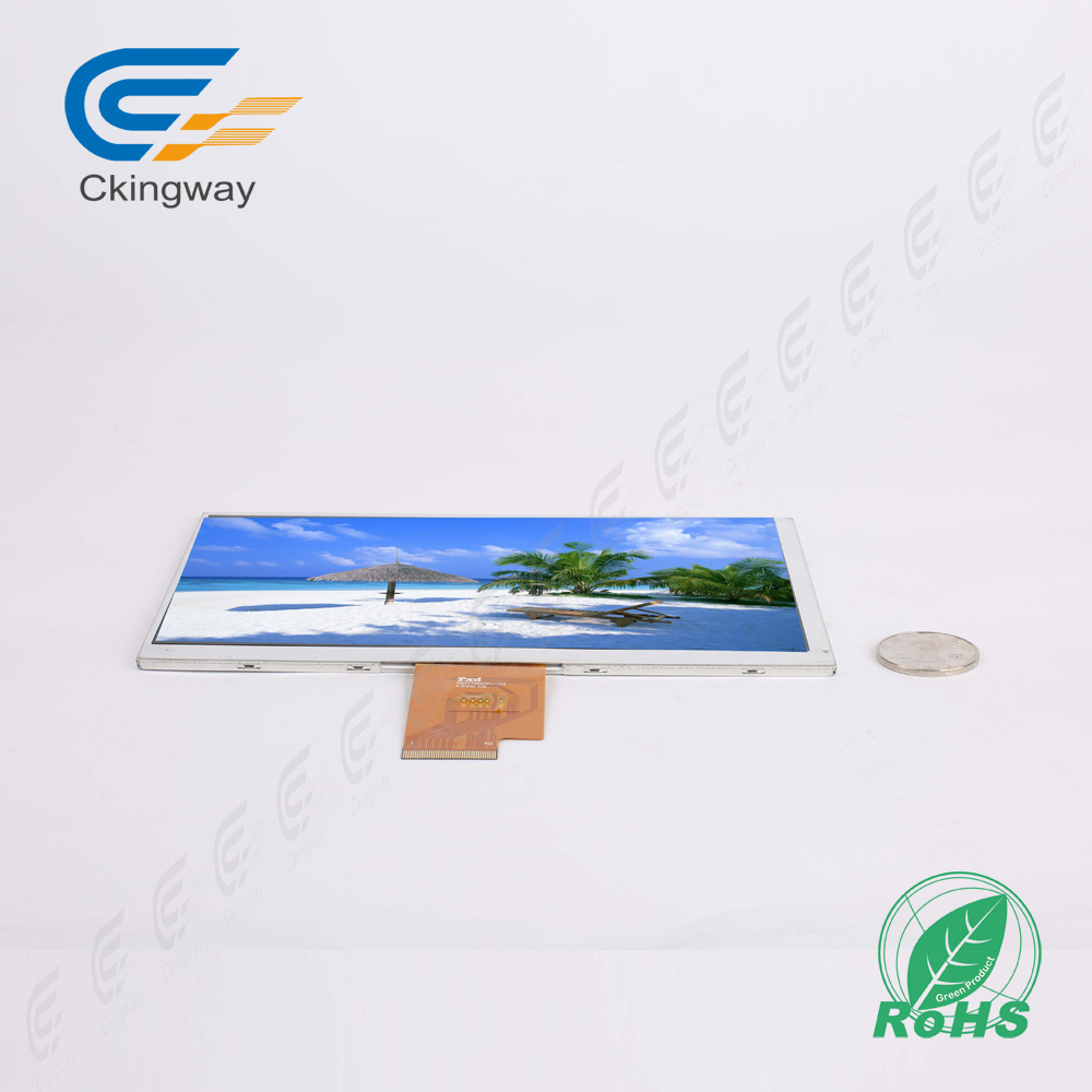 "7"" 1024*600 40 Pin Lvds Interface LCD Display Module"