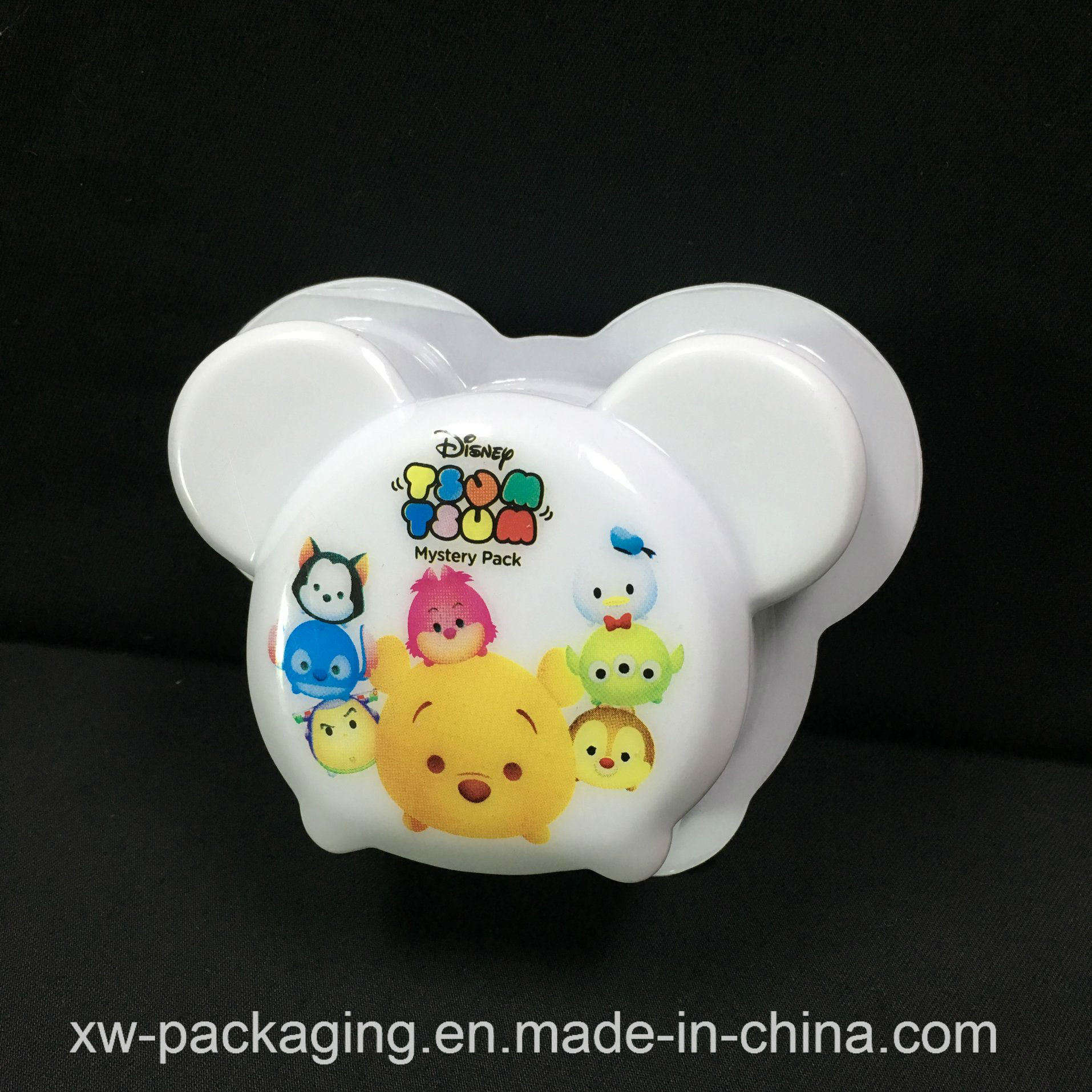 Animal Printed Fancy PVC Plastic Solid Blister Tray