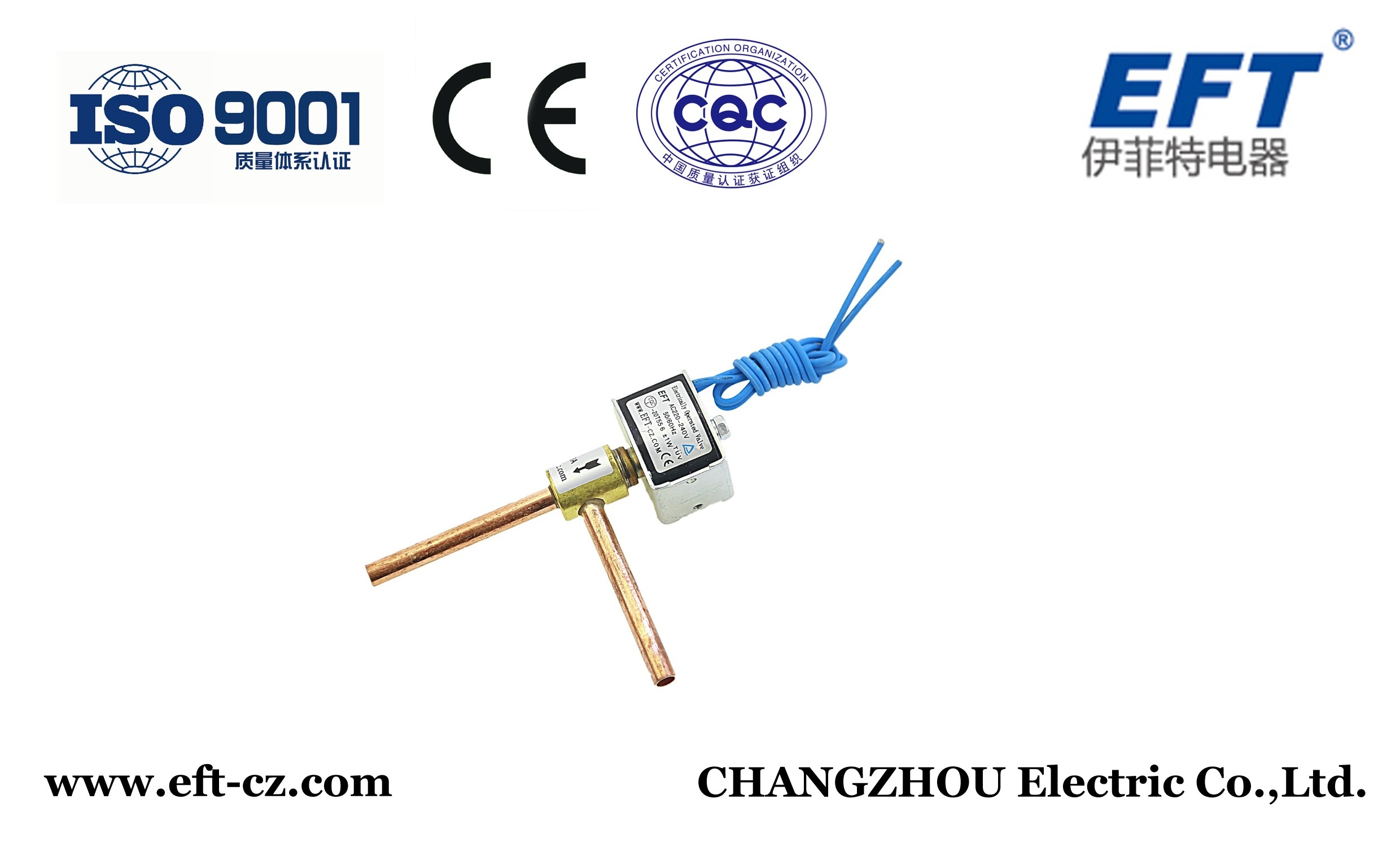 Dtf Series High Quality Solenoid Valve for Ice Machine, Refrigeration