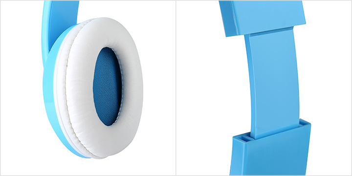 Blue MP3 Headset