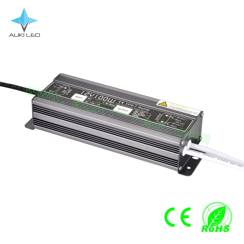 100 Watts Waterproof LED Power Supply