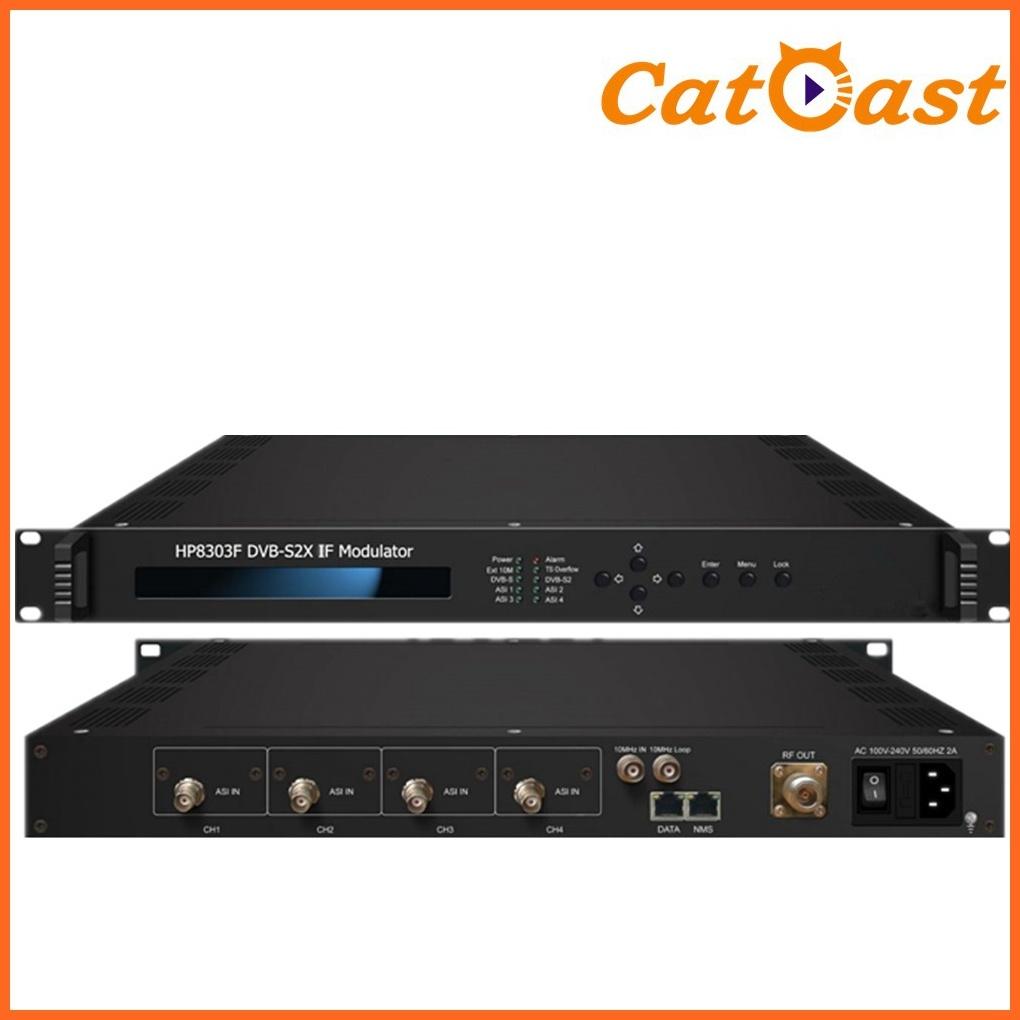 DVB-S2/S2X RF Modulator with Asi, IP Input